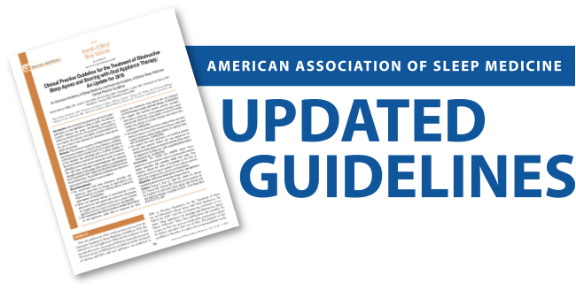 Updated AASM Guidelines